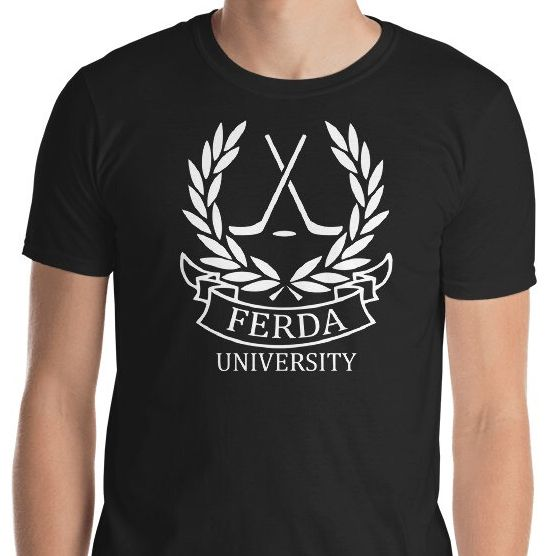 New #clothing in my #etsy shop: Letterkenny Inspired Ferda University T-shirt | Hockey gifts under 20 | Gifts for him | guy gifts http://etsy.me/2FfsOSL #shirt #letterkenny #fortheboys #hockeygifts #hockey #ferda #letterkennyproblems #ferdaboys #ferdauniversity #hockeymom #hockeylife #hockeyplayers #hockeyplayer #hockeygram #hockeytown #hockeystick #letterkennyshamrocks #letterkennyprobs #canada #canadagoose #canada #Canadian #college #collegelife