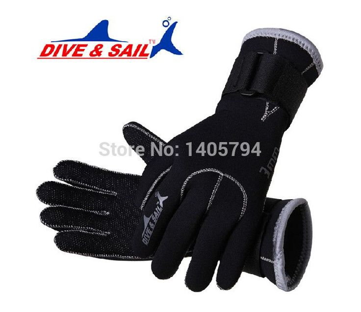 1Prs 3MM neoprene swimming and diving gloves high elastic Nycon-jersey anti slip gloves for diving swimming snorkel freeshipping