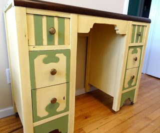 Fun Painted Furniture by Oliver Treasures!