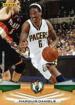 RARE 09/10 PANINI MARQUIS DANIELS INDIANA PACERS MINT