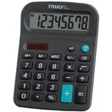 Asztali napelemes számológép 8 karakteres Truly 814A-8 Ft Ár 1,119