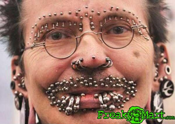 17 Best images about Crazy piercings on Pinterest | Weird