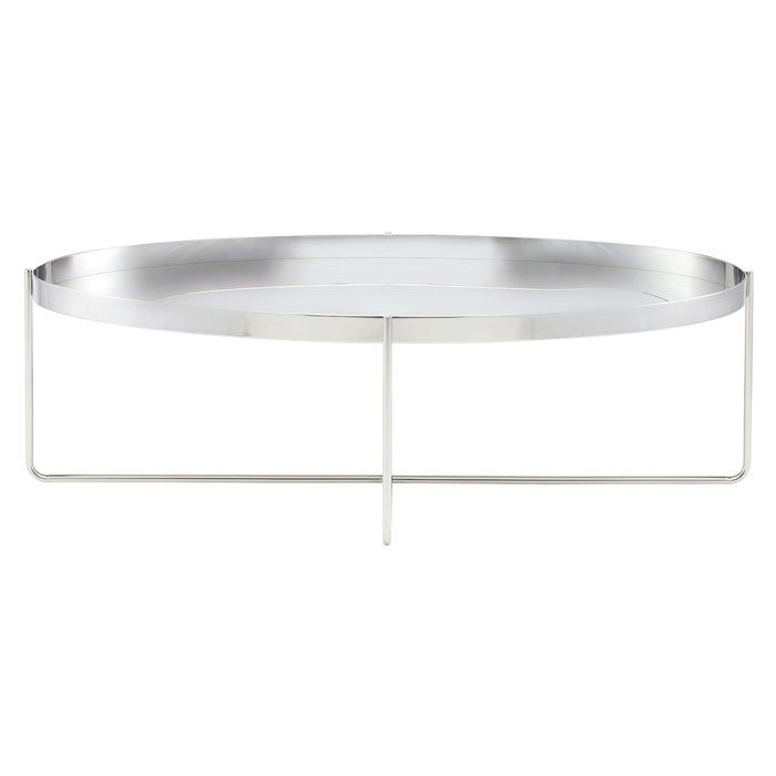 Idlewild Stainless Steel Coffee Table