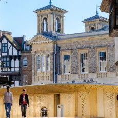 Quarterbridge was instructed by KingstonFirst to review the market activities within Kingston-upon-Thames and in particular the Ancient Market Place, Market House and Monday Street Market.