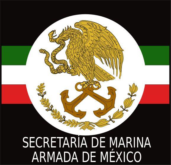 LOGO Marina Armada de Mexico NEGRO.svg