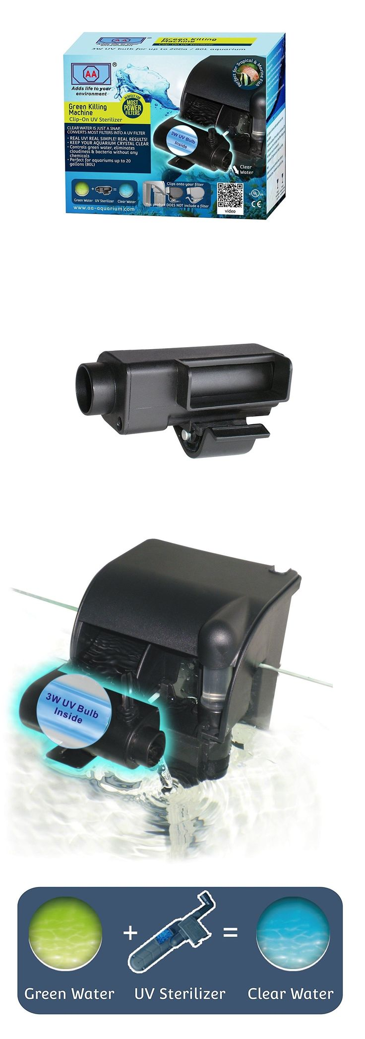 AA Aquarium AAUV3WR Green Killing Machine Clip-On UV Filter