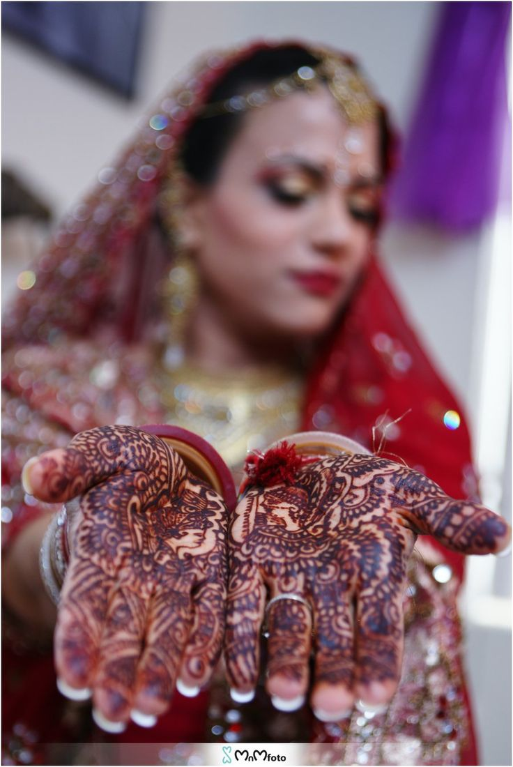 Red Henna Mehndi : Red bridal dress mehndi henna makeup jewelry san jose