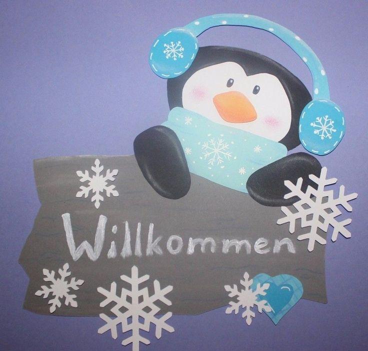 Penguin / wilkommen / craft