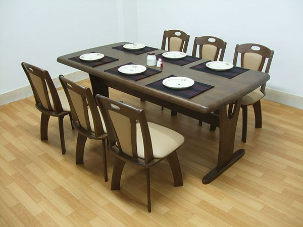 Dining Table 2人で搬入180ダイニングセット7点erub回転チェア6人用MBR無垢 北欧 インテリア 雑貨 家具 Modern ¥49800yen 〆08月24日