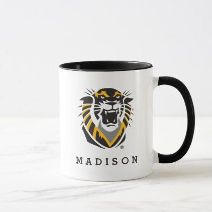 Fort Hays State Primary Mark Mug - college mug mugs diy cyo gift idea design present