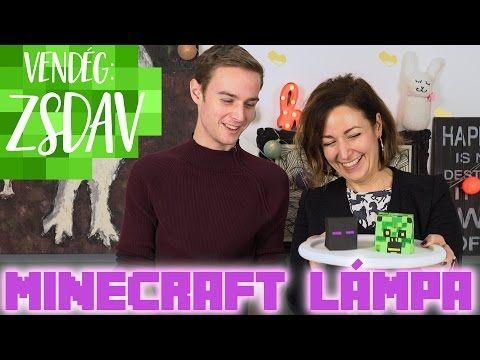 Dáviddal teljesítettük az első DIY kihívást, egy Minecraft lámpást csináltunk. Nézzétek meg, hogy sikerültek, nagyon jó buli volt :) Ha szeretnétek még ilyen...