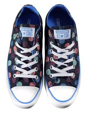 Converse Chuck Taylor All Star Dotty Ox Trainers