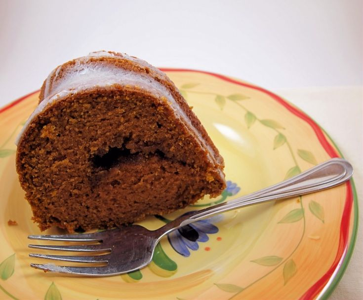Pumpkin Coffee Cake with Crème Fraîche Glaze | Coffee cake ...