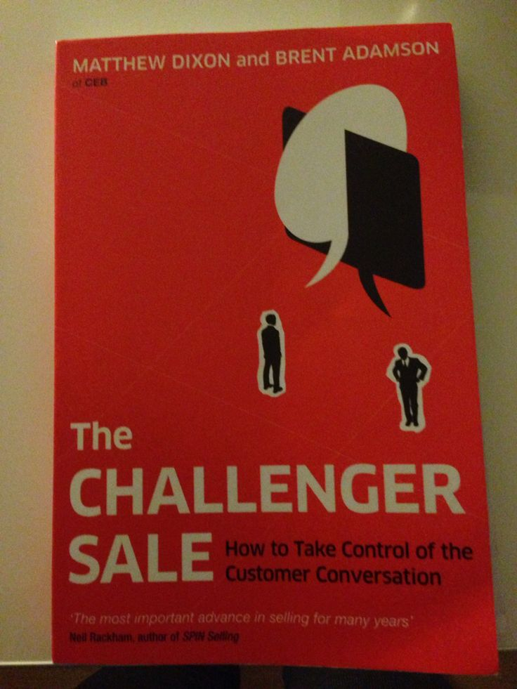 Boek: The Challenger Sale