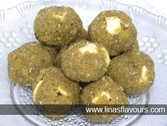 Green Gram Ladoos made from green gram flour is nutritious and tempting #mithai #sweets