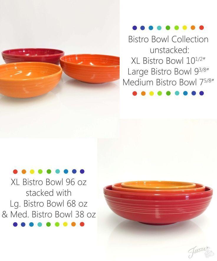 Fiesta Dinnerware Bistro Bowls