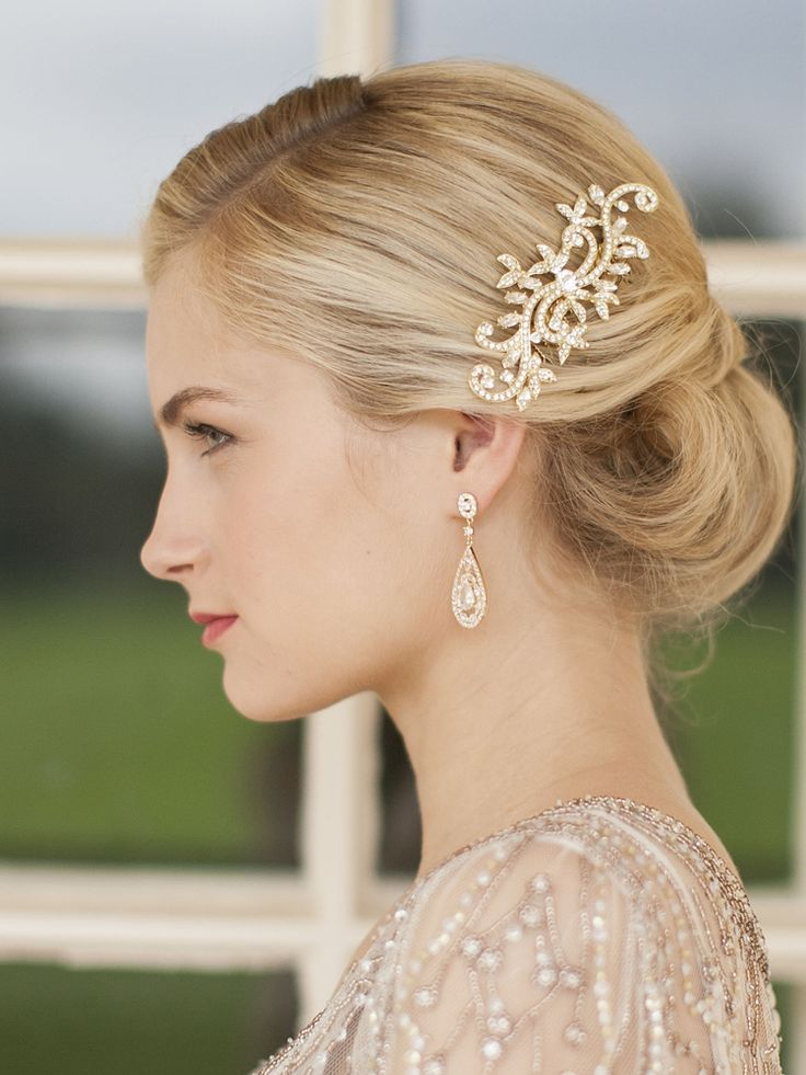 hair comb styles 92 best images about gold wedding inspiration on 4408 | 646bcff5dd491db6e89ac3236ffb27a6
