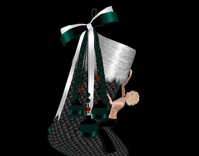 Christmas sock  (textured for IMVU)