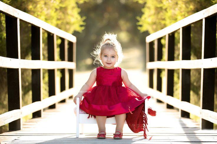 Toddler girl photo shoot