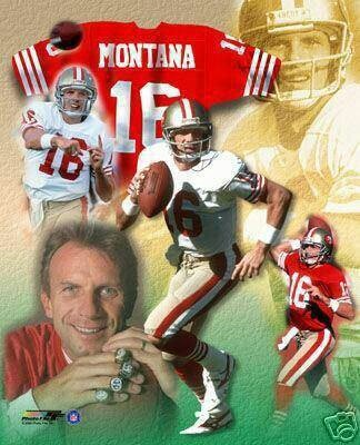 Joe Montana San Francisco 49ers QuarterBack