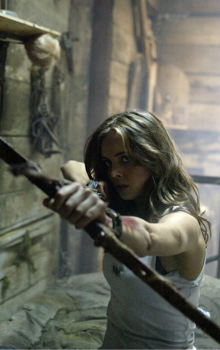 Eliza Dushku în Wrong Turn - and she is still HOT!!!