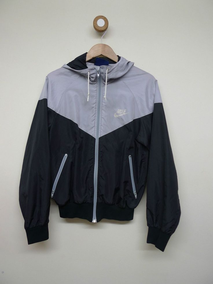 "yourtheappleofmyipod: ""vintage nike windbreaker """