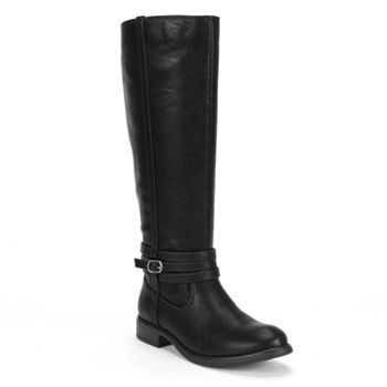 LC lauren conrad tall riding boots, $60