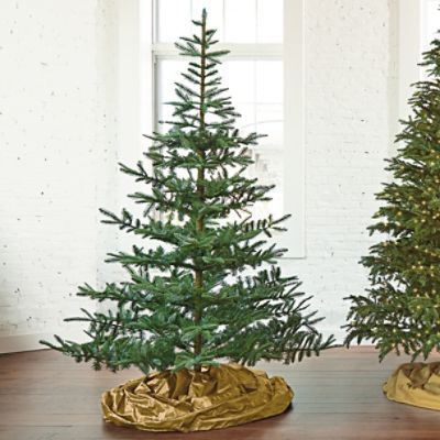 unlit noblis fir artificial christmas tree