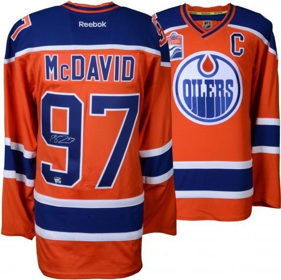 mcdavid jersey sales