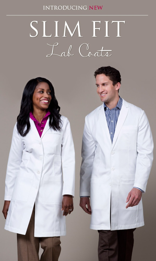 Introducing New Slim Fit Lab Coats...this will not hinder your female shape!