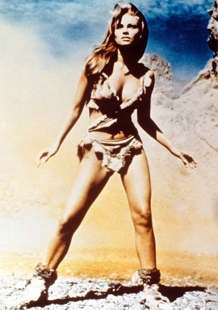 Pin for Later: The Ultimate Bikini Movie Gallery Raquel Welch, One Million Years B.C. I like to think of this as the first bikini.