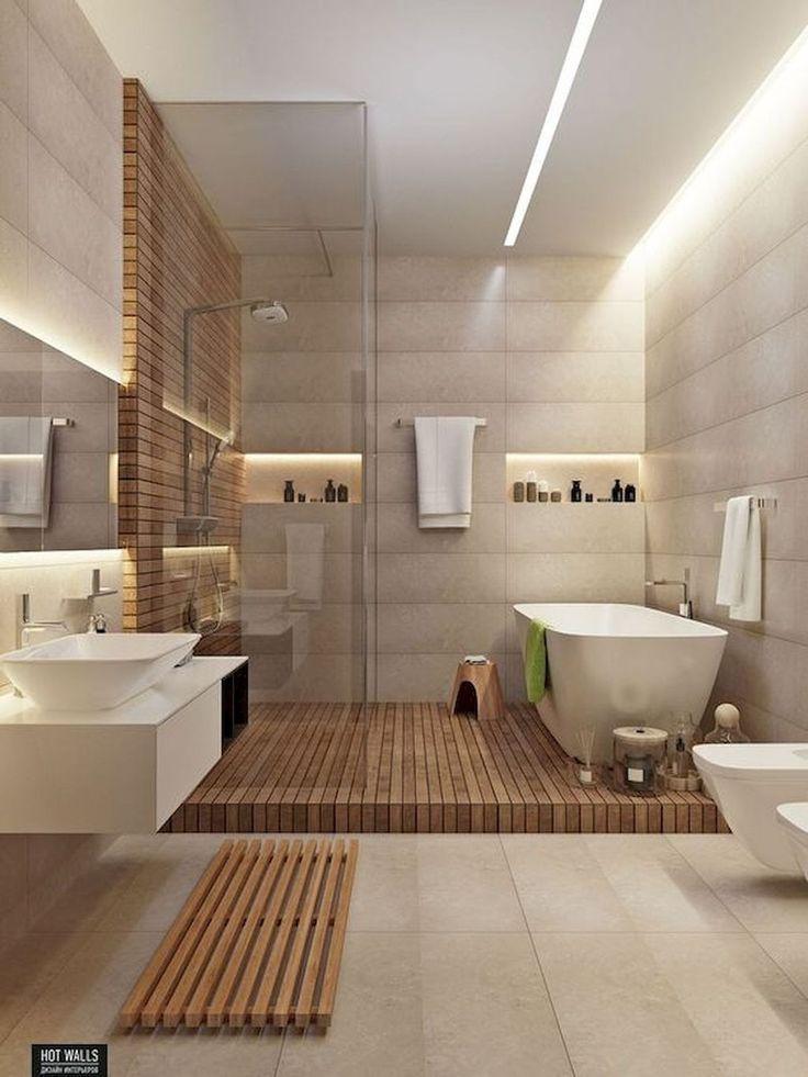 30+ Unusual Small Bathroom Design Ideas,  #Bathroom #beautifulhouseinthewoodslivingrooms #Des…