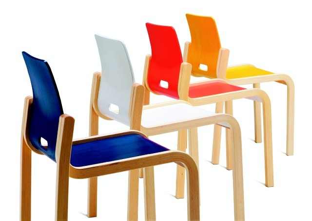 Kari 3 chair design Kari Asikainen (1971). The Kari series consists of a variety of furniture from general chairs and tables to lobby furniture   and sofa groups.  Manufacturer Martela Oyj.