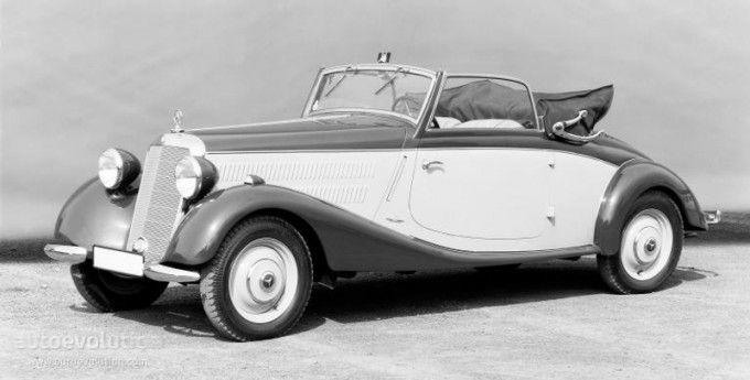 MERCEDES BENZ 170 V Cabriolet A (W136) (1936 - 1942)
