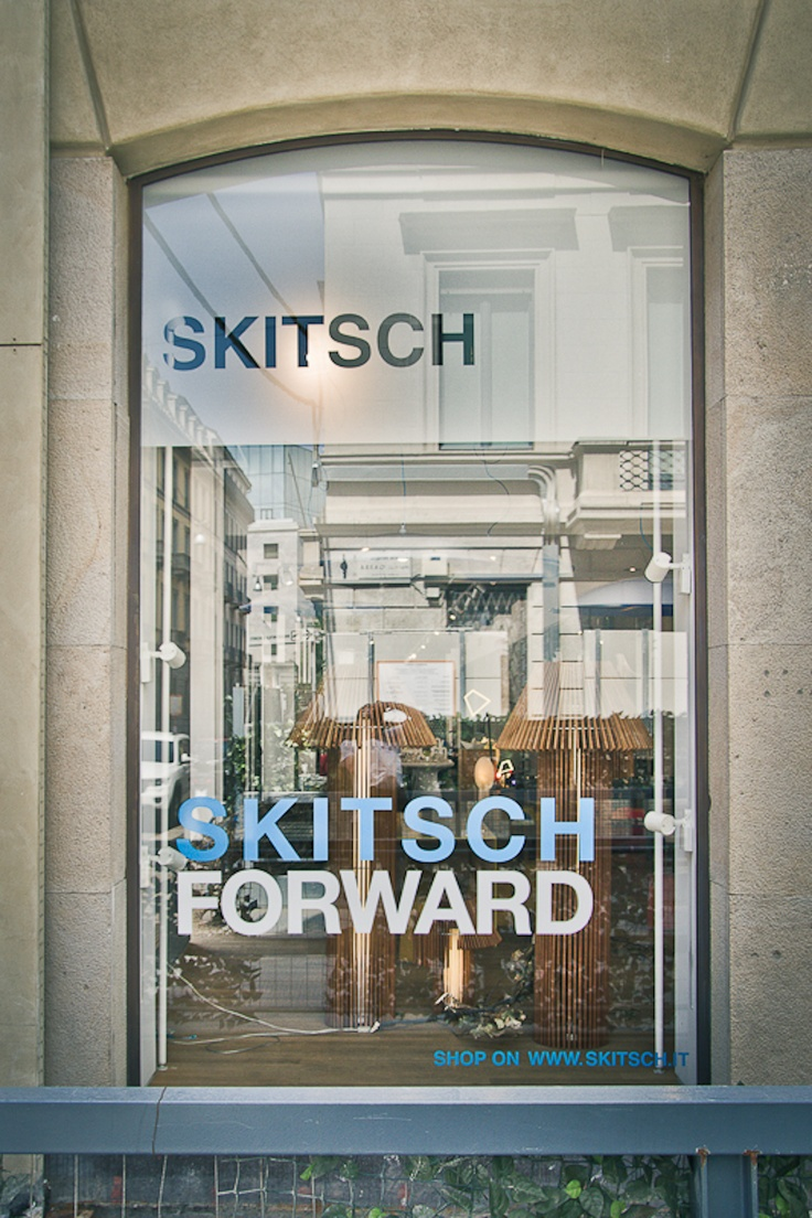 Skitsch - Via Monte di Pietà 11, Milano. Skitsch is an Italian brand that distributes contemporary design at relatively affordable prices, promoting young Italian and international designers. #lolagracetour #milan #shopping