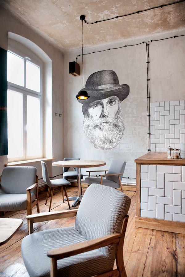 Minister Café in Poznan, Poland