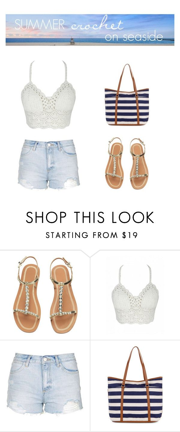 """""""Summer crochet"""" by fantalisa on Polyvore featuring moda, Topshop e Accessorize"""
