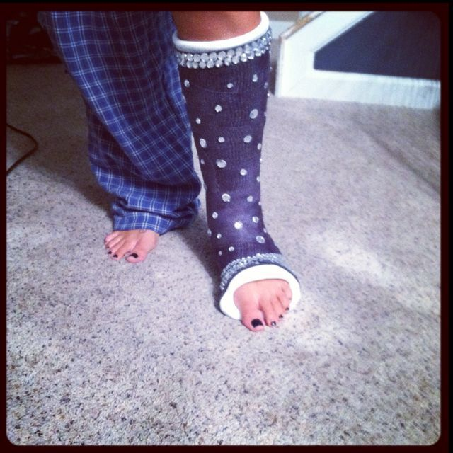 7 best decorations for cast boot images on pinterest for Arm cast decoration ideas