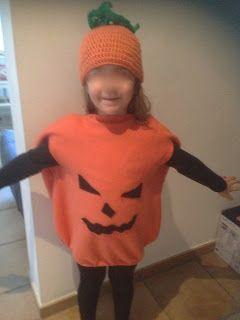 Facile vestito da zucca per bambini - easy pumpkin costume for kids http://mangialeggicrea.blogspot.ch/2015/10/vestito-da-zucca-per-halloween.html