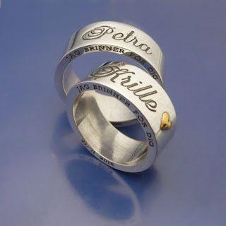 #Förlovningsringar  #Vigselringar Smidda på beställning!  www.alskadebarn.se  Älskade Barn