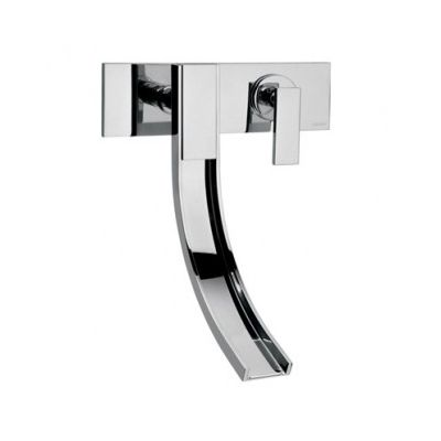 Altmans - Aqueduct at Hardware Designs Inc. Come check out this contemporary single control wall mounted faucet.