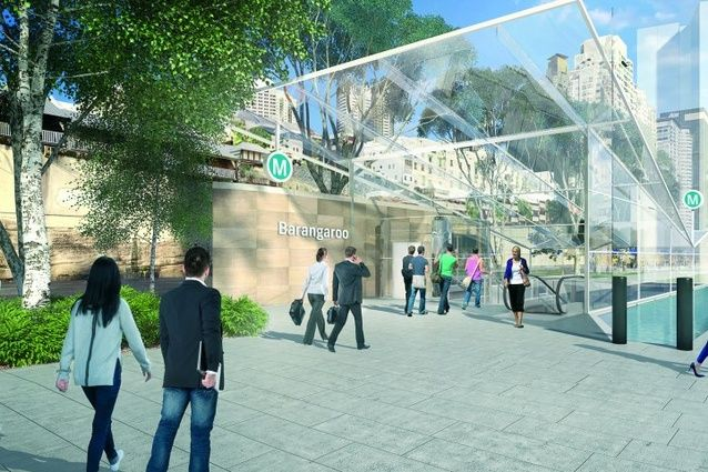 Proposed Sydney Metro station at Barangaroo to be designed by Foster and Partners and Architectus