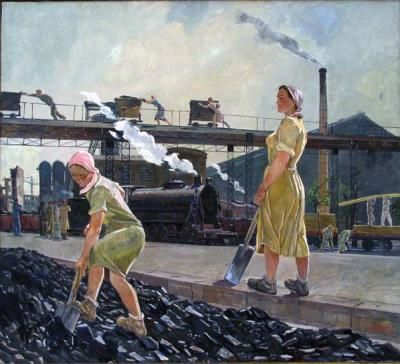 Alexander Deineka - Donbas, 1947