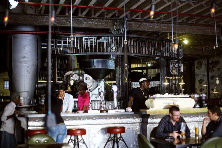 Стимпанк-кофейня в Южной Африке / Блог компании Мосигра / Хабрахабр