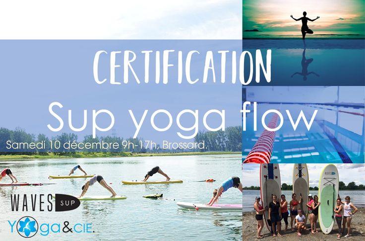 Certification: SUP Yoga flow