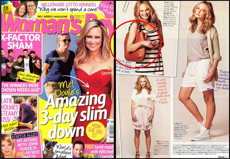 WOMAN'S DAY STERLING AND HYDE FEATURE