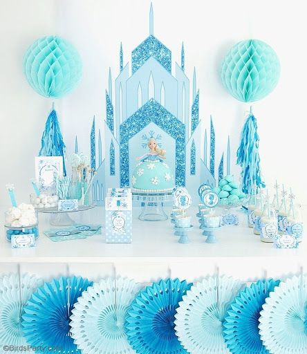 A Frozen Inspired Birthday Party