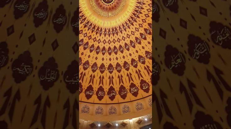 Asmaul Husna Calligraphy Inside Masjid Rahmatan Lil 'Alamin UPI YPTK Padang https://youtu.be/ttdoFjGOlrU