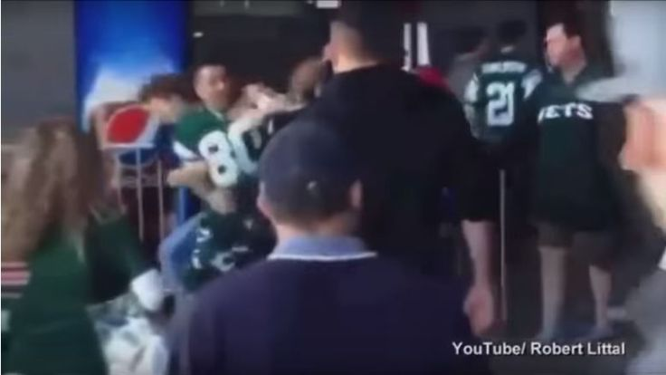 3 votes for Bad Sports Fan 0 votes for Not Bad Sports Fan Yikes! Video shows a pissed off Jets fan arguing with two ladies at the Jets/Patriots game in 2013. The Jets won this game! They pulled out a huge victory in overtime, with the Patriots receiving an unsportsmanlike conduct penalty on a long …