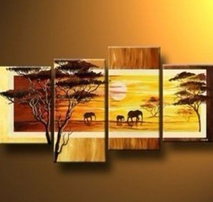 36 best Landsape Paintings - Tree images on Pinterest | Modern wall ...